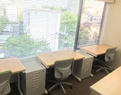 ビジネスポート竹の塚レンタルオフィス内観(2名部屋)