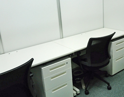 ビジネスポート長野レンタルオフィス内観(2名部屋)
